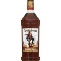 Captain Morgan Rum, Spiced, Original, 1.75 Litre