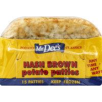 Mr. Dee's Hash Brown Potato Patties, 15 Each