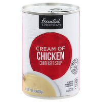Essential Everyday Condensed Soup, Cream of Chicken, 10.5 Ounce