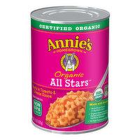 Annie Pasta, Organic, All Stars, 15 Ounce