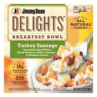 Jimmy Dean Breakfast Bowl, Turkey Sausage, 7 Ounce