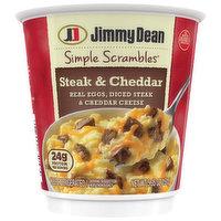 Jimmy Dean Steak & Cheddar, 5.35 Ounce