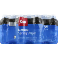 Cub Foods Spring Water, Natural, 35 Pack, 35 Each