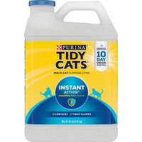 Tidy Cats Clumping Litter, Multi-Cat, Instant Action, 20 Pound