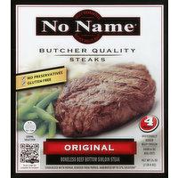 No Name Steaks Steaks, Butcher Quality, Original, 4 Each