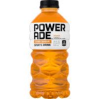 Powerade Sports Drink, Zero Sugar, Orange, 28 Ounce