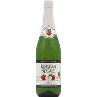 Kristian Regale Sparkling Juice Beverage, Apple, 25.4 Ounce