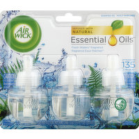 Air Wick Scented Oil Refills, Fresh Waters Fragrance, 3 Each