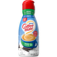Coffee-Mate Coffee Creamer, Zero Sugar, French Vanilla, 32 Fluid ounce