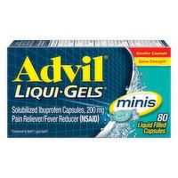 Advil Ibuprofen, 200 mg, Minis, Capsules, 80 Each