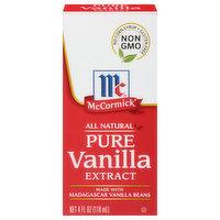 McCormick Extract, Pure Vanilla, 4 Ounce