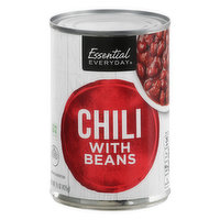 Essential Everyday Chili with Beans, 15 Ounce