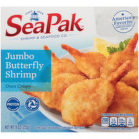 SeaPak Jumbo Butterfly Shrimp, 9 Ounce