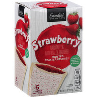 Essential Everyday Toaster Pastries, Strawberry, Frosted, 1 Each
