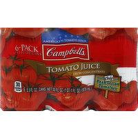 CAMPBELLS Juice, Tomato, 6 Each