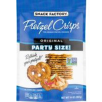 Snack Factory Pretzel Crisps, Original, Party Size, 14 Ounce