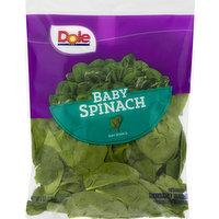 Dole Baby Spinach, 6 Ounce