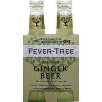 Fever-Tree Ginger Beer, Premium, 4 Each
