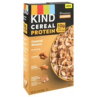 Kind Cereal, Protein, Caramel Almond, 10 Ounce