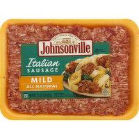 Johnsonville Italian Sausage, All Natural, Mild, 16 Ounce