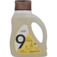 9 Elements Laundry Detergent, Lemon Scent, 46 Fluid ounce