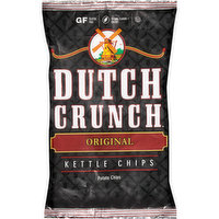 Dutch Crunch Original Kettle Potato Chips, 9 Ounce