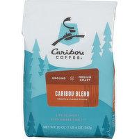 Caribou Coffee Caribou Blend Medium Roast Ground Coffee, 20 Ounce
