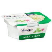Alouette Soft Spreadable Cheese, Garlic & Herbs, 6.5 Ounce