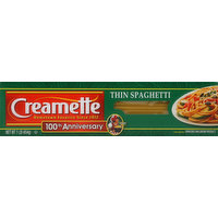 Creamette Spaghetti, Thin, 1 Pound