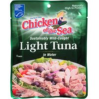 Chicken of the Sea Light Tuna in Water, 5 Ounce