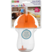 Munchkin Straw Cup, Weighted, Any Angle, 12+ Months, 1 Each