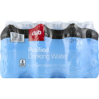 Cub Drinking Water, Purified, 24 Pack, 24 Each