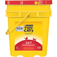Tidy Cats Cat Litter, Clumping, for Multiple Cats, 35 Pound