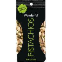 Wonderful Pistachios, Roasted & Salted, 8 Ounce