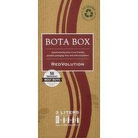 Bota Box Red Wine Blend, RedVolution, 3 Litre