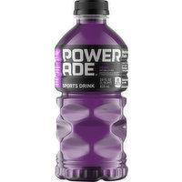 Powerade Sports Drink, Grape, 28 Ounce