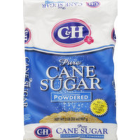 C&H Sugar, Pure Cane, Confectioners Powdered, 32 Ounce