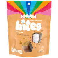 Jet-Puffed Marshmallow Bites, S'Mores Flavored, 4 Ounce