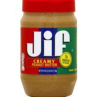 Jif Peanut Butter, Creamy, 40 Ounce