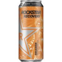 Rockstar Energy Drink, Orange, 16 Ounce