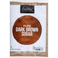 Essential Everyday Sugar, Dark Brown, Pure, 32 Ounce