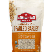 Arrowhead Mills Barley, Organic, Pearled, 28 Ounce