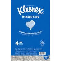 Kleenex Tissues, 2-Ply, 4 Pack, 4 Each