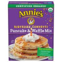 Annies Pancake & Waffle Mix, Birthday Confetti, 26 Ounce