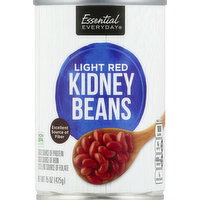 Essential Everyday Kidney Beans, Light Red, 15 Ounce