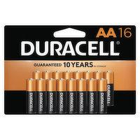 Duracell Batteries, Alkaline, AA, 16 Pack, 16 Each
