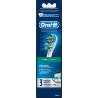 Oral B Brush Heads, Replacement, 3 Each