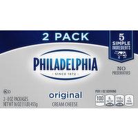 Philadelphia Cream Cheese, Original, 2 Pack, 2 Each