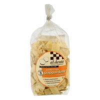 Al Dente Pappardelle Noodles, Golden Egg, 12 Ounce