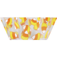 Creative Converting Bowl, Fluted, Candy Corn, 8 Inch, 1 Each
